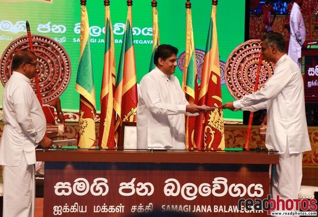 Inauguration Ceremony of Samagi Jana Balawegaya