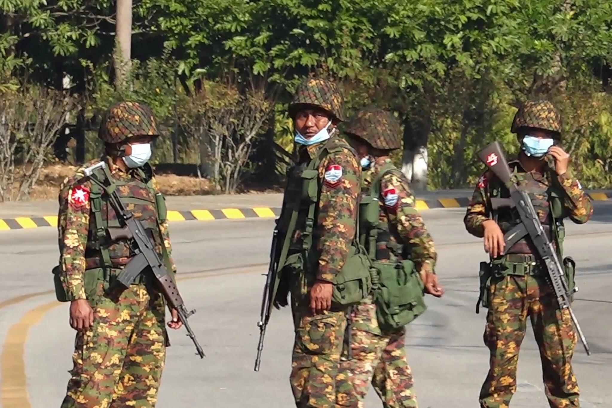 Myanmar Coup in Pictures