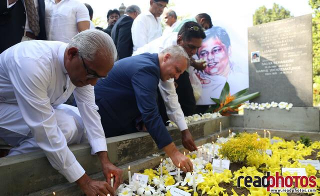 Lasantha Wickramathunga 10th Memorial (6) - Read Photos