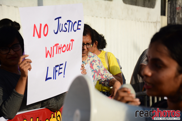 No death penalty: Protest against Presidents decision - Read Photos